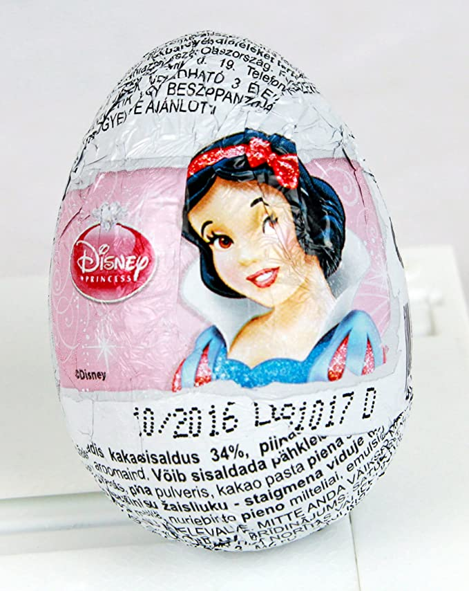Walt Disney Princess Characters from Well-known Cartoons Chocolate