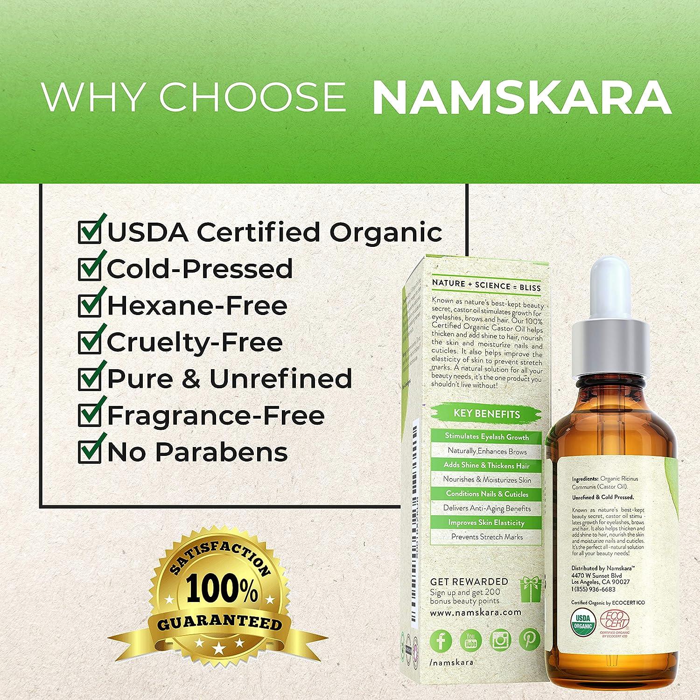Amazon.com: Aceite de ricino orgánico – 100 % puro orgánico ...