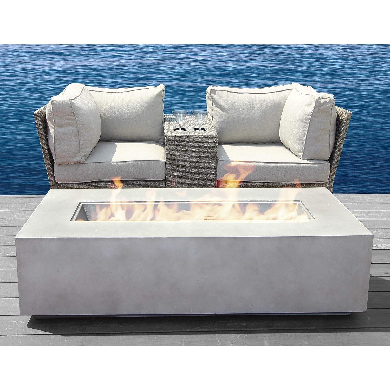Amazon.com: Conjunto de muebles de mimbre para jardín, patio ...