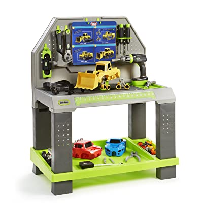 Little Tikes Construct 'n Learn Smart Workbench: Toys & Games