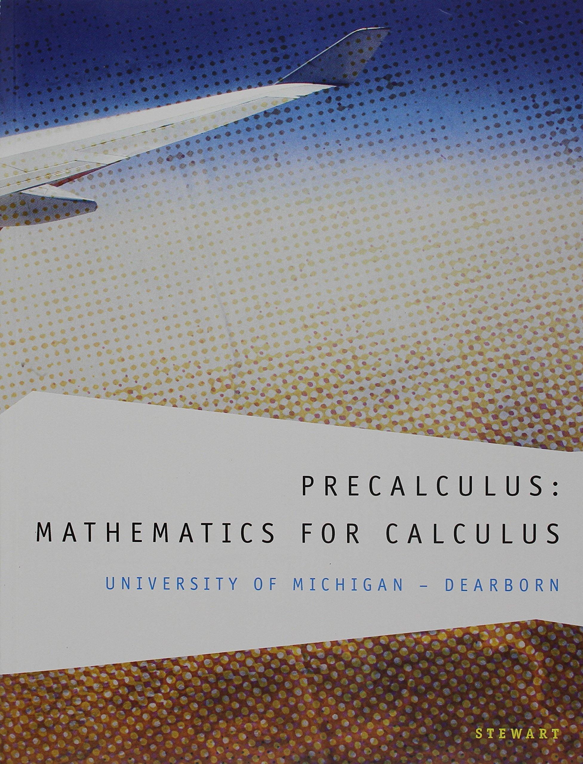 Amazon Buy Custom Precalculus Mathematics For Calculus