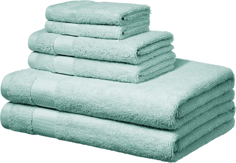 4 Pcs Laura Secrets Plain Bath Sheet Towel Set Absorbent Soft 100/% Cotton