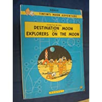 "Tintin's Moon Adventure: containing ""Destination Moon"" and ""Explorers on the Moon"" (A Magnet book)"