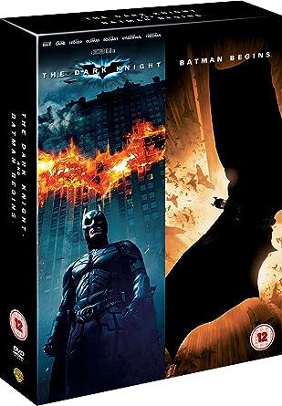 Batman Begins The Dark Knight Dvd Uv Copy 2005 Amazoncouk