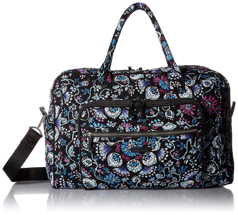 Amazon.com  Vera Bradley womens Iconic Weekender Travel Bag, Signature  Cotton, Bramble, One Size  Clothing 913a8e0a97