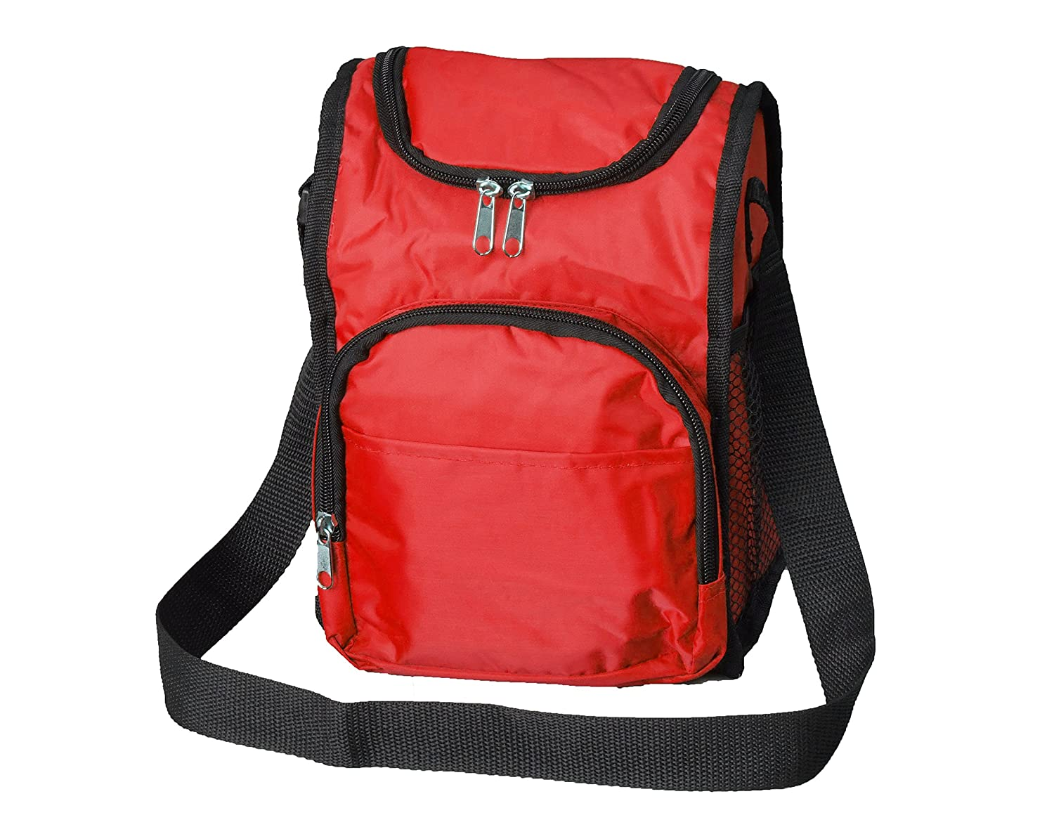 Lunchboxes for Boys - Insulated Boys Lunch Boxes, Thermal Red Lunch Bags for Kids School by Bayfield Bags B019HUXXTS  Red