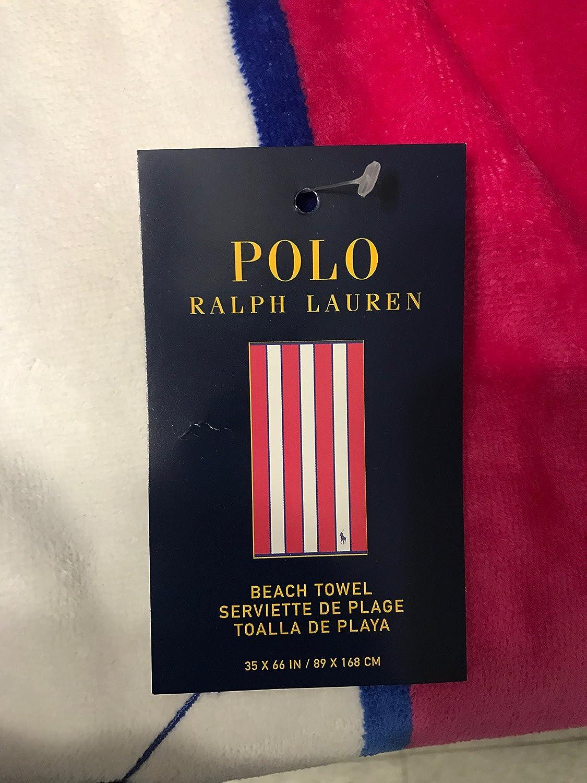 Ralph Lauren Polo Toalla de Playa con Big Pony: Amazon.es: Hogar