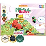 Logic Roots Mountain Raiders Addition Game - Fun Math Board Game for 7 - 9 Year Olds, Easy Start STEM Toy with Addition of 2