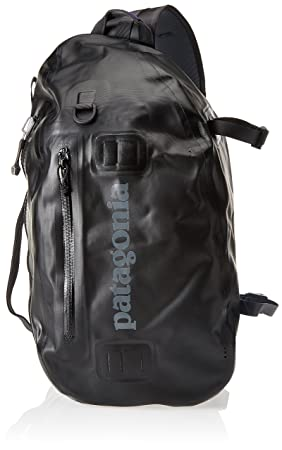 1dbed891195 Patagonia Stormfront Sling, Unisex Adults' Backpack, Black, 36x24x45 cm (W x