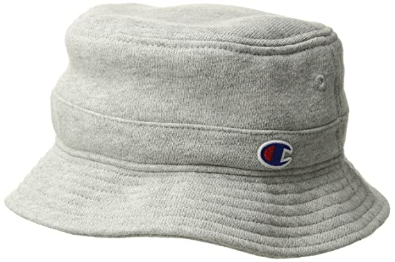 bc26adbbeca Champion LIFE Mens Reverse Weave Bucket Hat Reverse Weave Bucket Hat Bucket  Hat - Gray -  Amazon.co.uk  Clothing