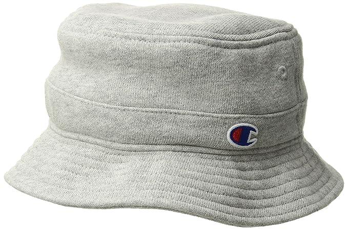 9a1431755871cc Champion Life Men's Reverse Weave Bucket Hat, Oxford Gray, Small/Medium