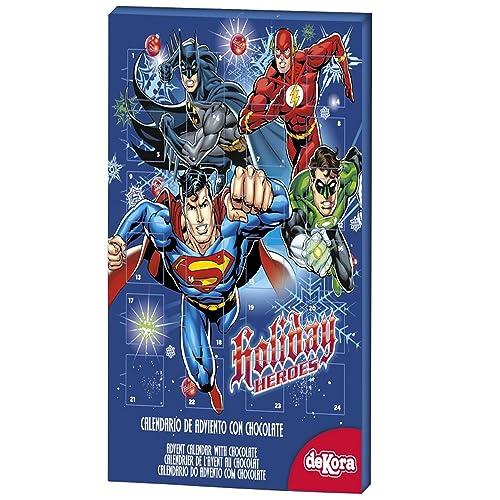 Calendrier de l'avent au chocolat DC Comics - taille - Taille Unique - 237819