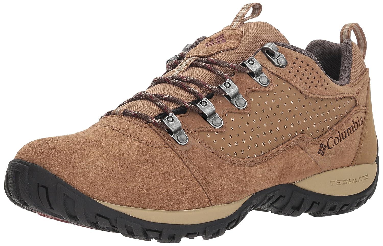 Columbia Peakfreak Venture Low Suede WP, Zapatillas de Senderismo para Hombre 42.5 EU|Marrón (Delta / Deep Rust 257)