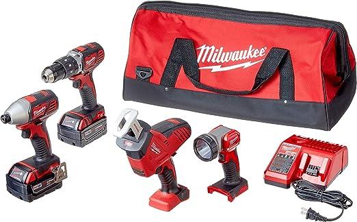 Amazon.com: Milwaukee 2695-24 M18 18 - Kit de herramientas ...