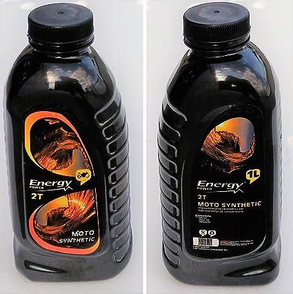 2 litros aceite motor 2T Moto Synthetic (API TC JASO FD,, iso-l ...