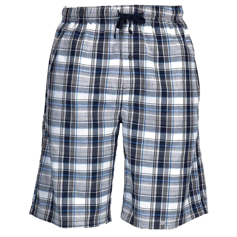 Hanes Pantaloncini da pigiama con stampa di cotone e matrigna per uomo