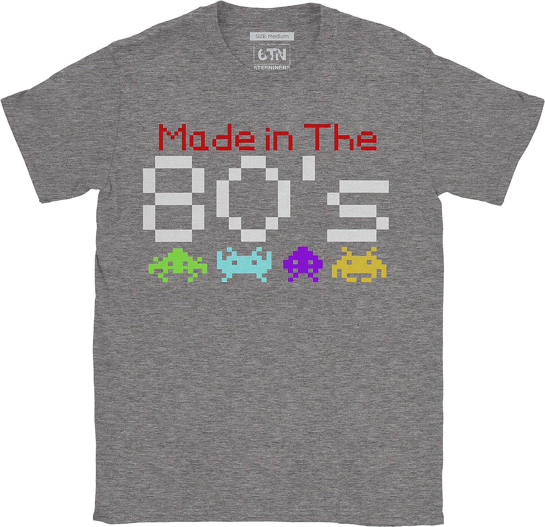 6TN Hombre Hecho en la Camiseta de los a/ños 80