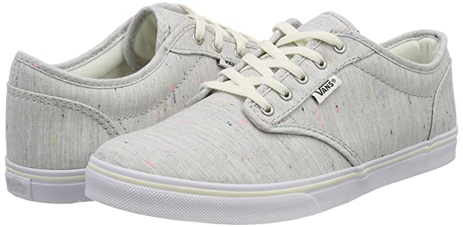 5fec58db0a2b97 Vans Women s Atwood Low Trainers Grey ((Speckle) Gray Q5k) 5 UK  Amazon.in   Shoes   Handbags