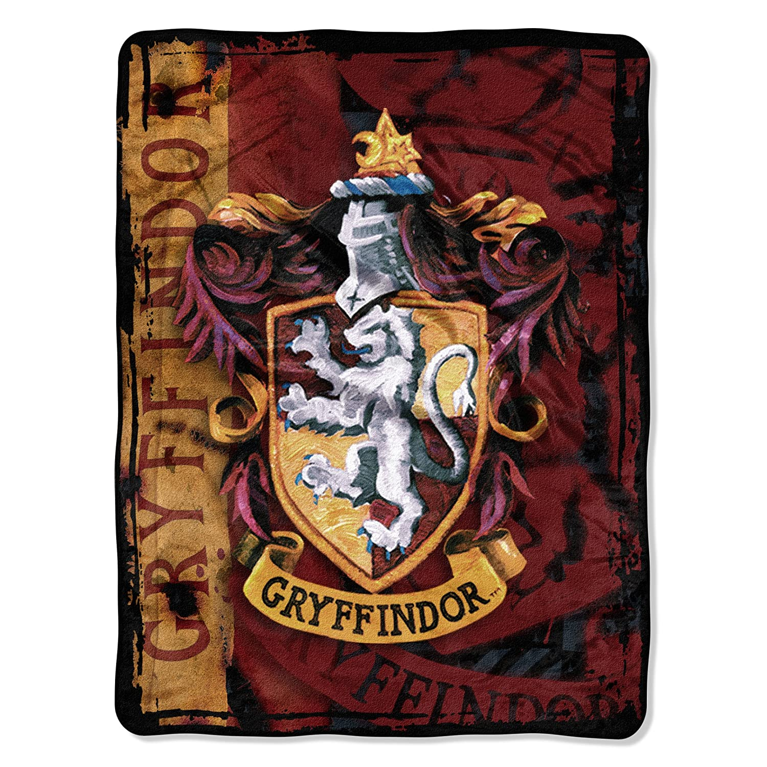 "Harry Potter, ""Battle Flag"" Micro Raschel Throw Blanket, 46"" x 60"""