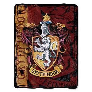 """Harry Potter, """"Battle Flag"""" Micro Raschel Throw Blanket, 46"""" x 60"""""""