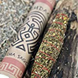 """Native American Lavender Sage Smudge Stick - Arizona Grown, Harvested, Blessed. Cleanse, Bless, Heal. POWERFUL! (8"""")"""
