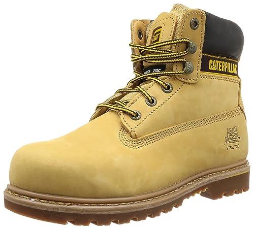 4a1a3d36a1763d Caterpillar Holton st Men's Safety Boots, Beige (Honey Reset), 6 UK (