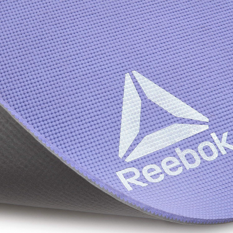 Reebok RAYG-11060PLGR Esterilla de Yoga, Gris/Morado, Talla ...