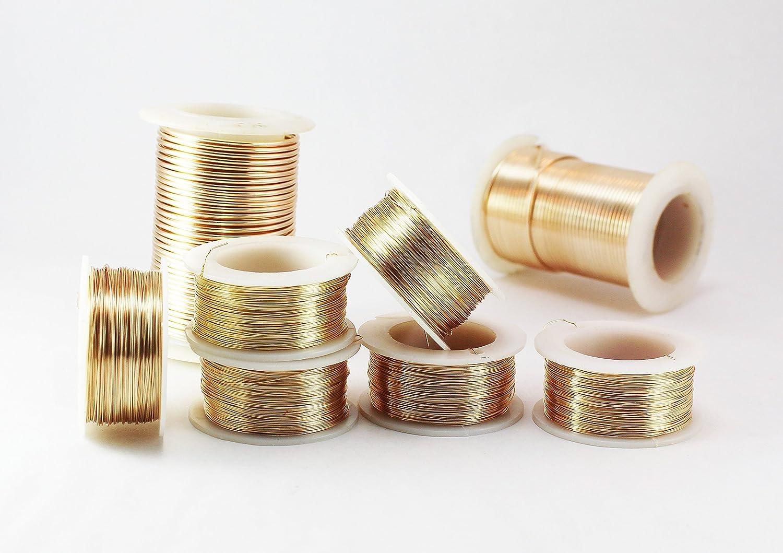Amazon.com: Creartejoyas Paquete De 2 Rollos De Alambres #18 Jewelry Wire, Alambre De Bisuteria
