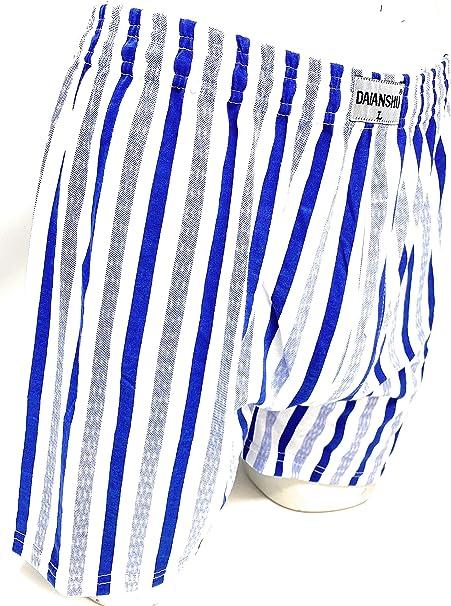 Daianshu Pack de 4/8 Calzoncillos Boxer Americano de Algodón para ...