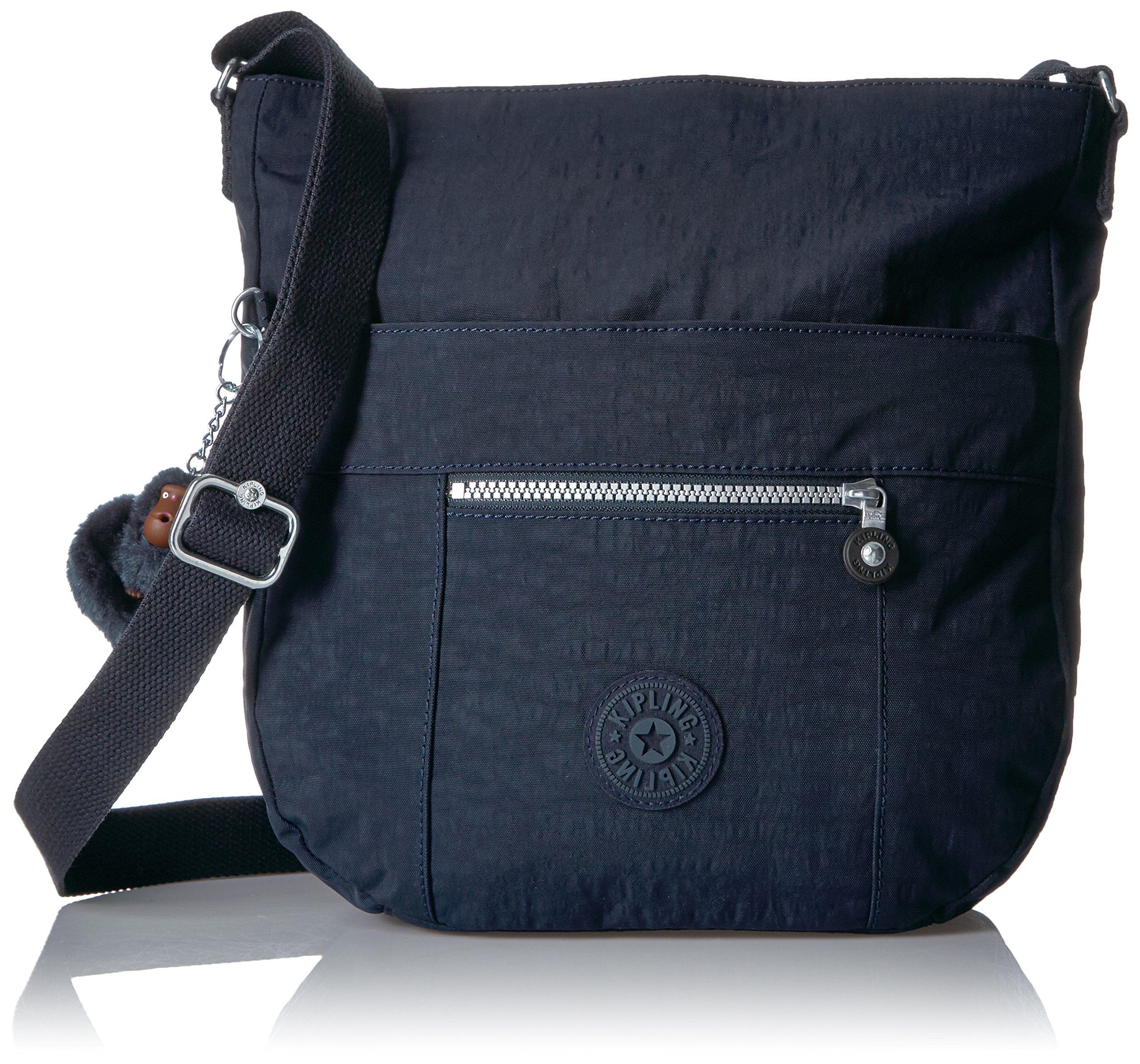 Kipling Bailey Solid Hobo Crossbody Bag, True Blue