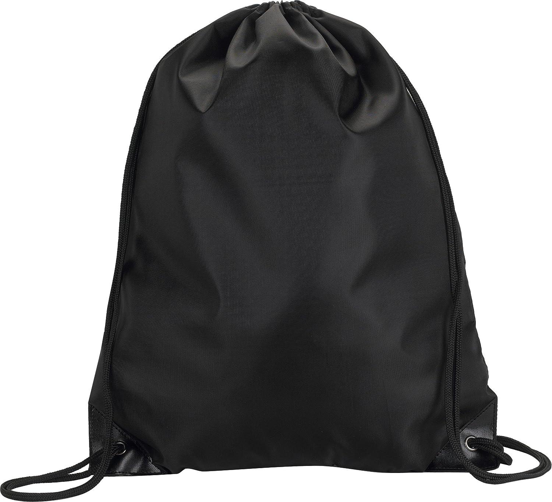 8886 UltraClub値Drawstringパック巾着バッグ B00BXP5FWY  ブラック One Size
