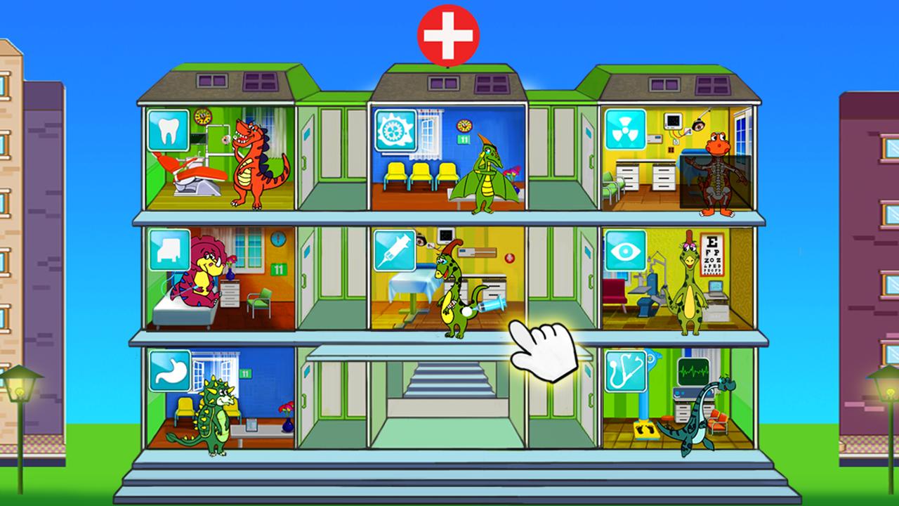 Dr. Dino! Juegos al doctor educativos para niños: Amazon