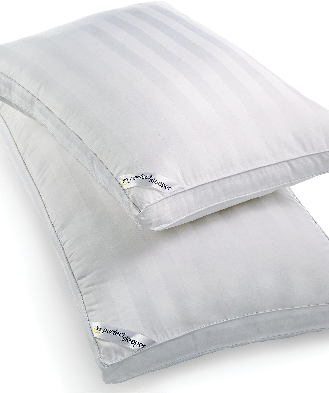 Serta Perfect Sleeper SlumberGel Pillows - Pillows - Bed & Bath - Macy's