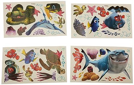 Disney RoomMates Children\'s Repositonable Wall Stickers Finding Nemo ...