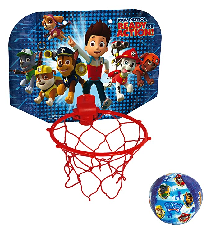 PAW PATROL - Mini Basket, Juego de Aire Libre (Saica Toys 7491 ...