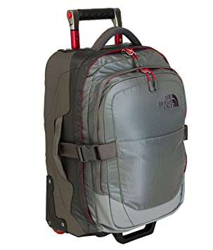 North Red Zinc Greytnf Face Sac Taille Overhead Gris The De Voyage yO8n0wvmN