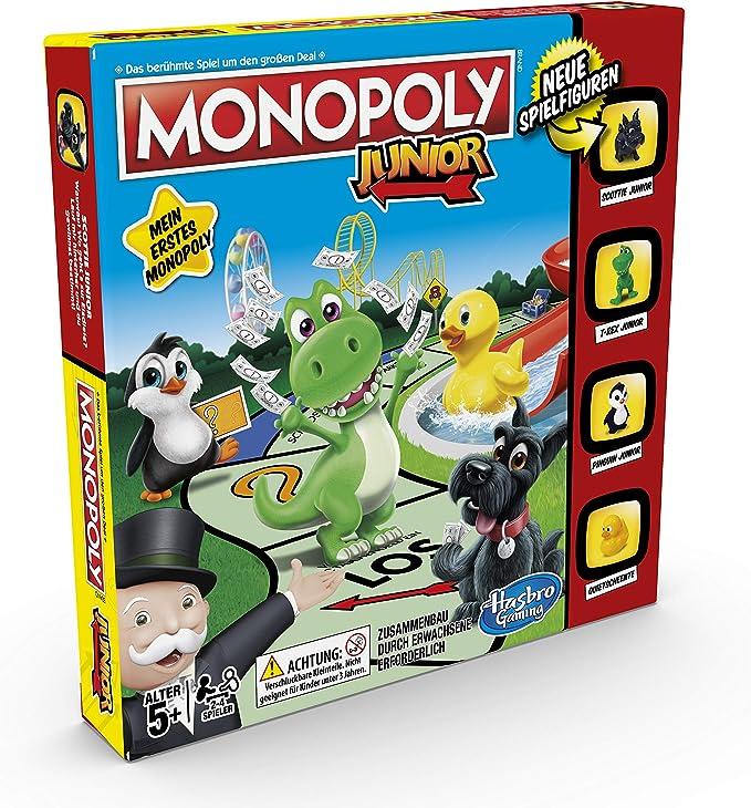 Hasbro Gaming Monopoly Junior Juego de Tablero, Simulación económica (Hasbro A6984594): Amazon.es: Juguetes y juegos