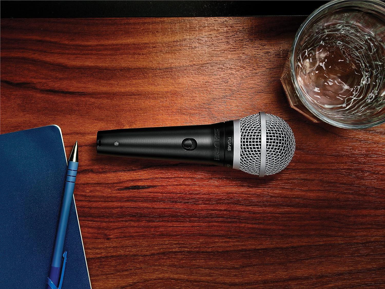 Shure PGA48-LC Cardioid Dynamic Vocal Microphone