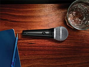 Shure PGA48-XLR Cardioid Dynamic Vocal Microphone (Color: Black, Tamaño: 5.00 x 10.00 x 3.50)