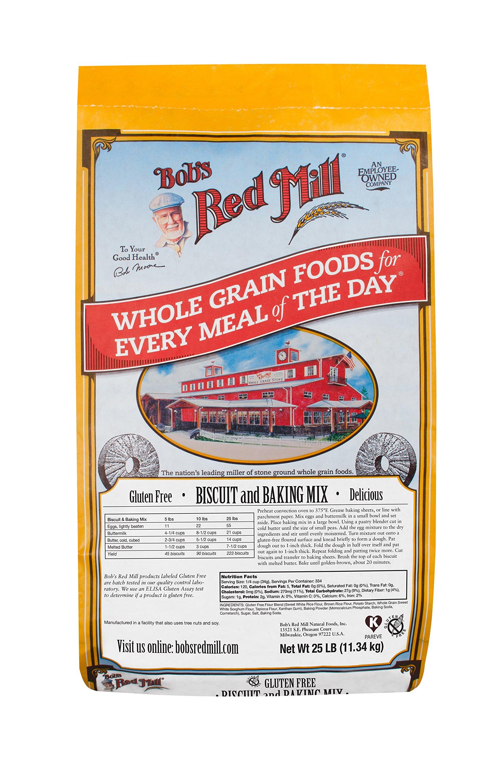 Bob's Red Mill Gluten Free Biscuit & Baking Mix, 25 Pound