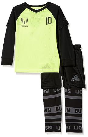 74442c8ddec adidas Kid's I I Messi Jog Tracksuit, Yellow/Amasol/Tinley/Negro/Nocmét