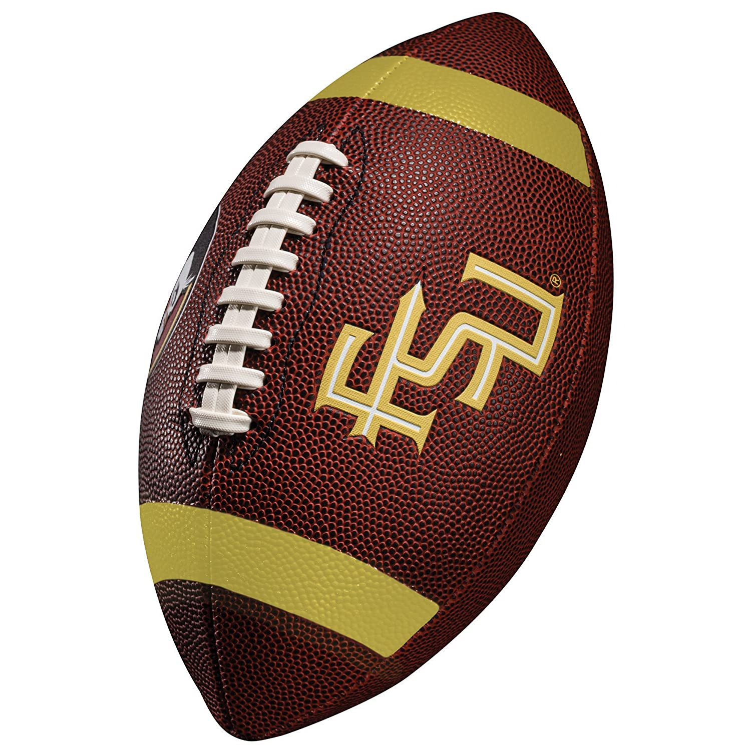 Official College Team Football with Team Logos Franklin Sports Kids NCAA Youth Football Junior Size Football