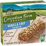 Cascadian Farm Organic Chewy Granola Bar Vanilla Chip 6 - 1.2 oz Bars
