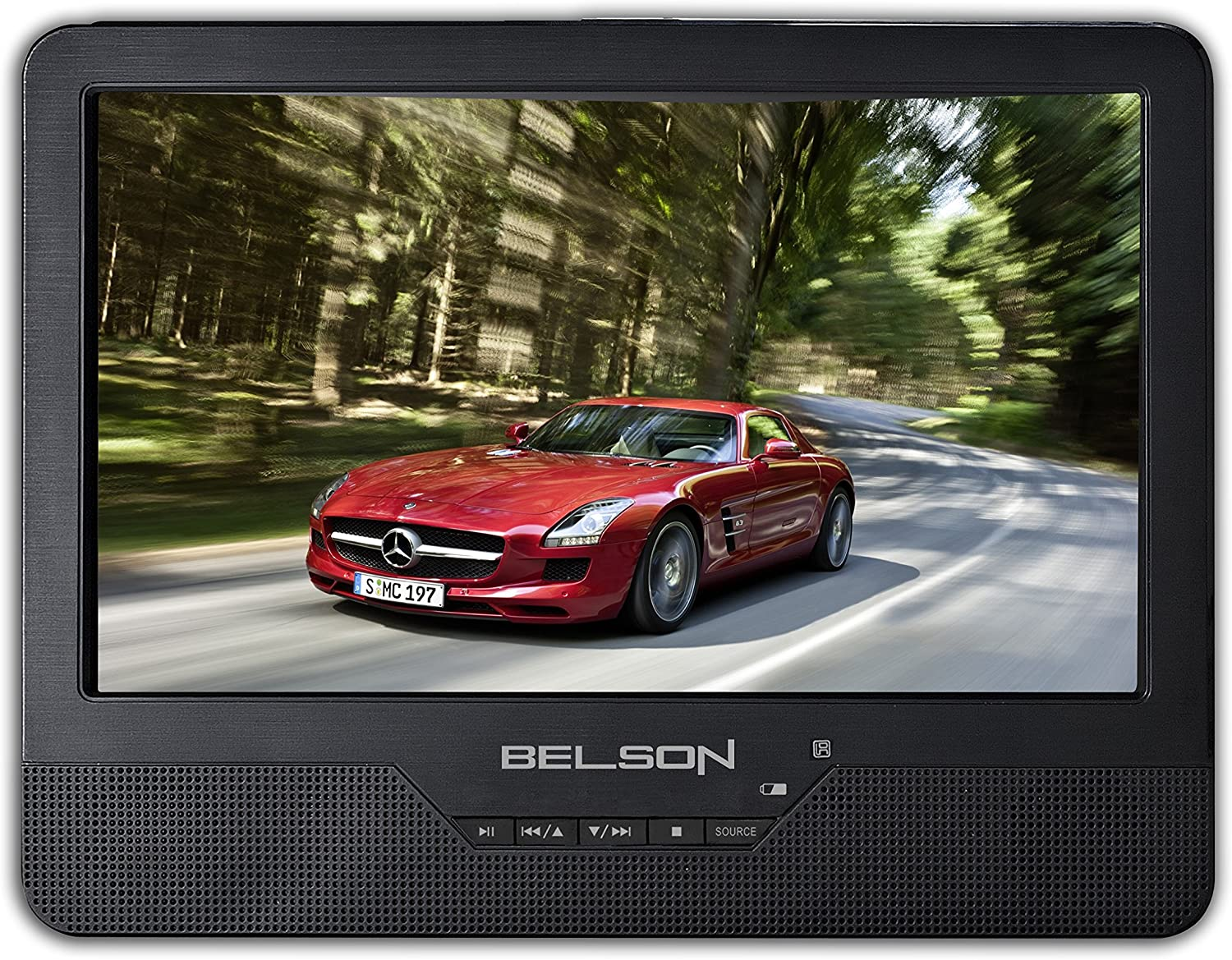Belson BELBS-128 Reproductor Portatil para Coche, 9