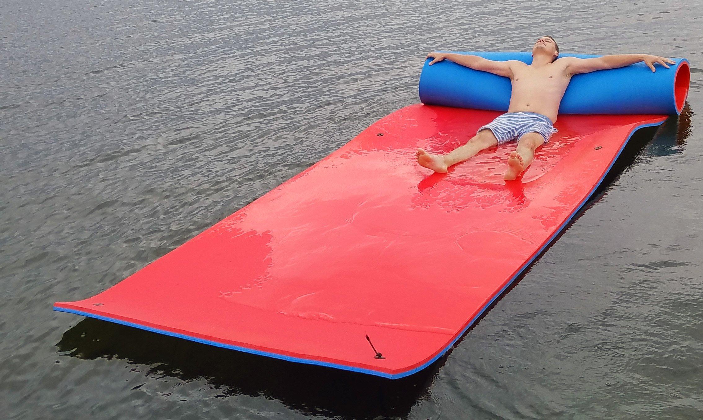 Vico Marine Floating Foam Pad - Red/Blue by Vico Marine (Image #6)