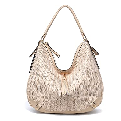 cbec0598fb Amazon.com  Urban Expressions Oasis Syn Hobo Bag Cream  Shoes