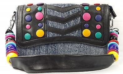Amazon.com: k13504 mylux Mujeres/Niñas Candy Denim Bolsa de ...