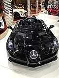 Voiture électrique pour bébé 12V - Mercedes Benz SLR noir métalissé