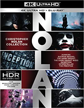 Christopher Nolan Collection 4K Ultra HD Digital on Blu-ray