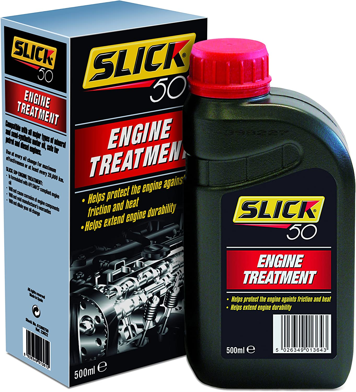 Slick 50 Engine Treatment - Tratamiento aditivo de Aceite, 500 ml ...